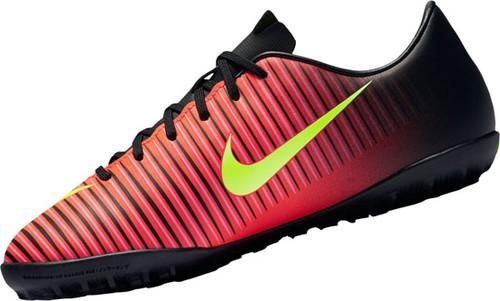 Nike MercurialX Vapor XI Turf Boot Jr - Crimson/Black