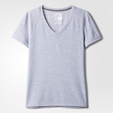 adidas Women's SS Ultimate V-Neck Tee