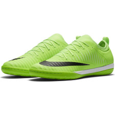 Nike MercurialX Finale II Indoor Boot - FLASH LIME/BLACK-WHITE-GUM LIGHT BROWN
