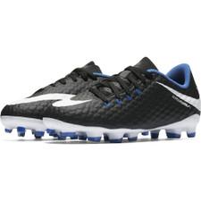 Nike Hypervenom Phelon III Firm Ground Boot Jr - Black/White-Game Royal