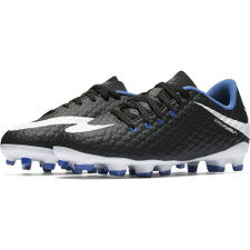 half off 68c3e ae440 Nike Hypervenom Phelon III Firm Ground Boot Jr - Black/White-Game Royal