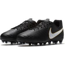 Nike Tiempo Rio IV Firm Ground Boot Jr - Black/White-Black