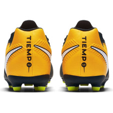 newest 5302e 2ff09 Nike Tiempo Rio IV Firm Ground Boot Jr - BLACK/WHITE-LASER ORANGE-VOLT