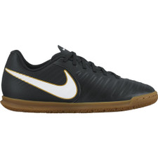 Nike TiempoX Rio IV Indoor Boot Jr - BLACK/WHITE-BLACK