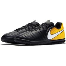 Nike TiempoX Rio IV Indoor Boot Jr - BLACK/WHITE-LASER ORANGE-VOLT
