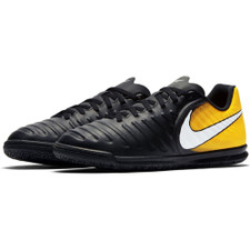 Nike TiempoX Rio IV Indoor Boot Jr - BLACK/WHITE-LASER ORANGE-VOLT