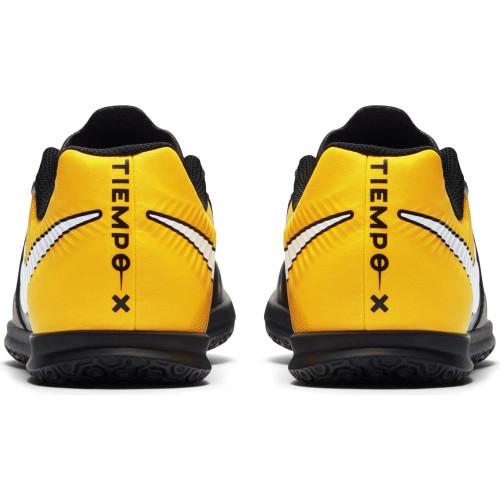 ea61f624cf87 ... Nike TiempoX Rio IV Indoor Boot Jr - BLACK/WHITE-LASER ORANGE-VOLT ...