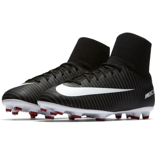 2147670a3b1 Nike Mercurial Victory VI Dynamic Fit Firm Ground Boot Jr - BLACK ...