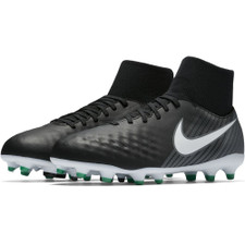 Nike Magista Onda II Dynamic Fit Firm Ground Boot Jr - BLACK/WHITE-COOL GREY-STADIUM GREEN