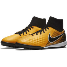 Nike MagistaX Onda II Dynamic Fit Turf Boot Jr - LASER ORANGE/BLACK-WHITE-VOLT