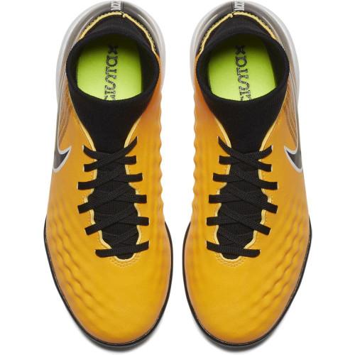Nike MagistaX Onda II Dynamic Fit Turf Boot Jr - LASER ORANGE/BLACK-WHITE-VOLT