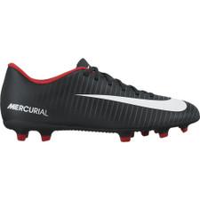 Nike Mercurial Vortex III Firm Ground - BLACK/WHITE-DARK GREY