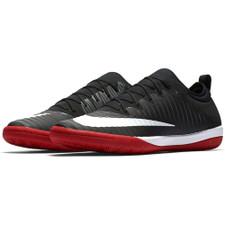 Nike MercurialX Finale II Indoor Boot - BLACK/WHITE-UNIVERSITY RED-DARK GREY