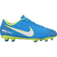 Nike Mercurial Vortex III NJR Firm Ground Boot Jr - BLUE ORBIT/WHITE-BLUE ORBIT-ARMORY NAVY