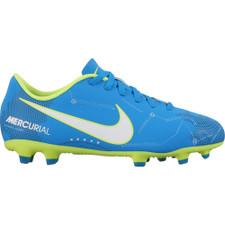 Nike Mercurial Vortex III NJR Firm Ground Boot Jr - BLUE ORBIT/WHITE-BLUE ORBIT-ARMORY NAVY