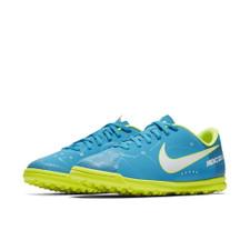 Nike MercurialX Vortex III NJR Turf Boot Jr -BLUE ORBIT/WHITE-BLUE ORBIT-ARMORY NAVY