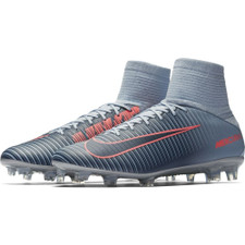 Nike Mercurial Veloce III Dynamic Fit Firm Ground Boot - BLACK/WHITE