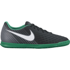 Nike MagistaX Ola II Indoor Boot - BLACK/WHITE-COOL GREY-STADIUM GREEN