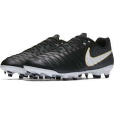 Nike Tiempo Ligera IV Firm Ground Boot - BLACK/WHITE-BLACK