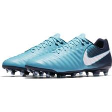 Nike Tiempo Ligera IV Firm Ground Boot - GAMMA BLUE/WHITE-OBSIDIAN-GLACIER BLUE
