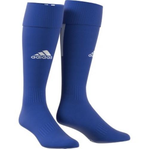 adidas Santos 18 Sock - Bold Blue/White - L - 18 Pairs