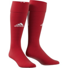 adidas Santos 18 Sock - Power Red/White - L - 18 Pairs