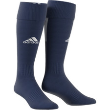 adidas Santos 18 Sock - Dark Blue/White - L - 18 Pairs