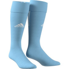 adidas Santos 18 Sock - Clear Blue/White