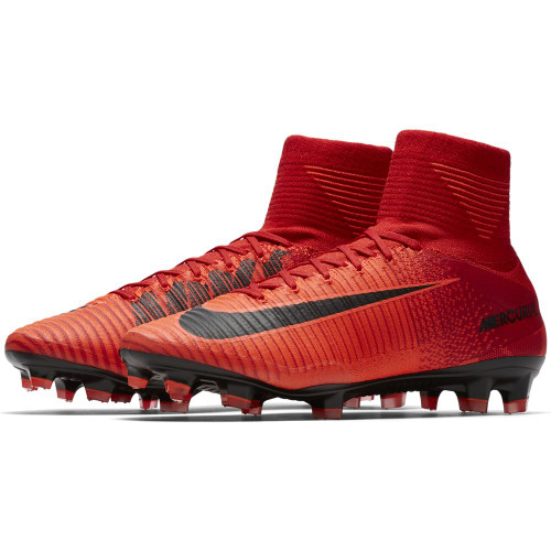 0c511cefd49 Nike Mercurial Superfly V Firm Ground - Red/Crimson | Soccer Express