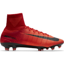 half off 7eb32 a1d48 Nike Mercurial Superfly V Firm Ground - Red/Crimson | Soccer Express