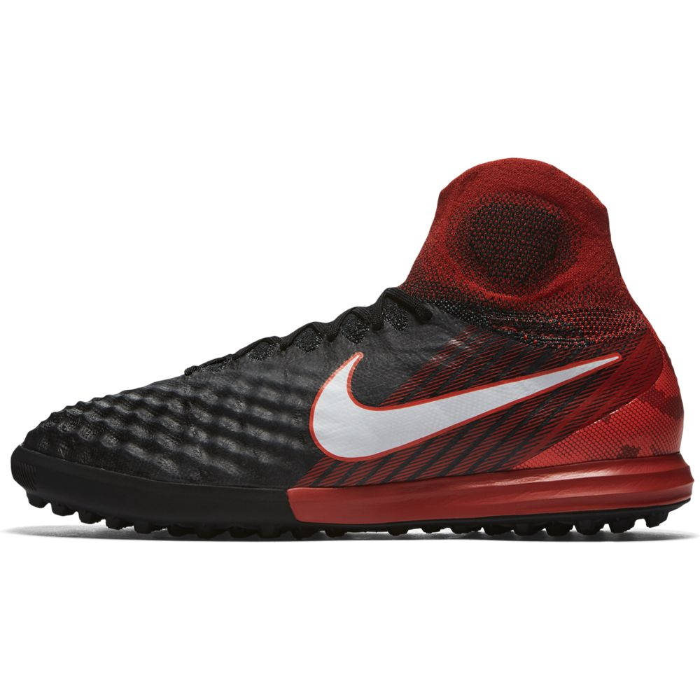 a11fba9ce ... clearance nike magistax proximo ii dynamic fit turf football boot black  white university red 38ef1 3afb4