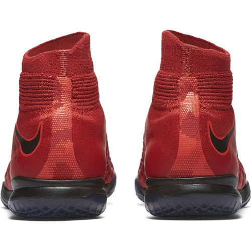 Nike HypervenomX Proximo II Dynamic Fit Indoor Boot Jr - UNIVERSITY RED/BLACK-BRIGHT CRIMSON
