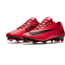 Nike Mercurial Vapor XI Firm Ground Boot - University Red/Black-Bright Crimson