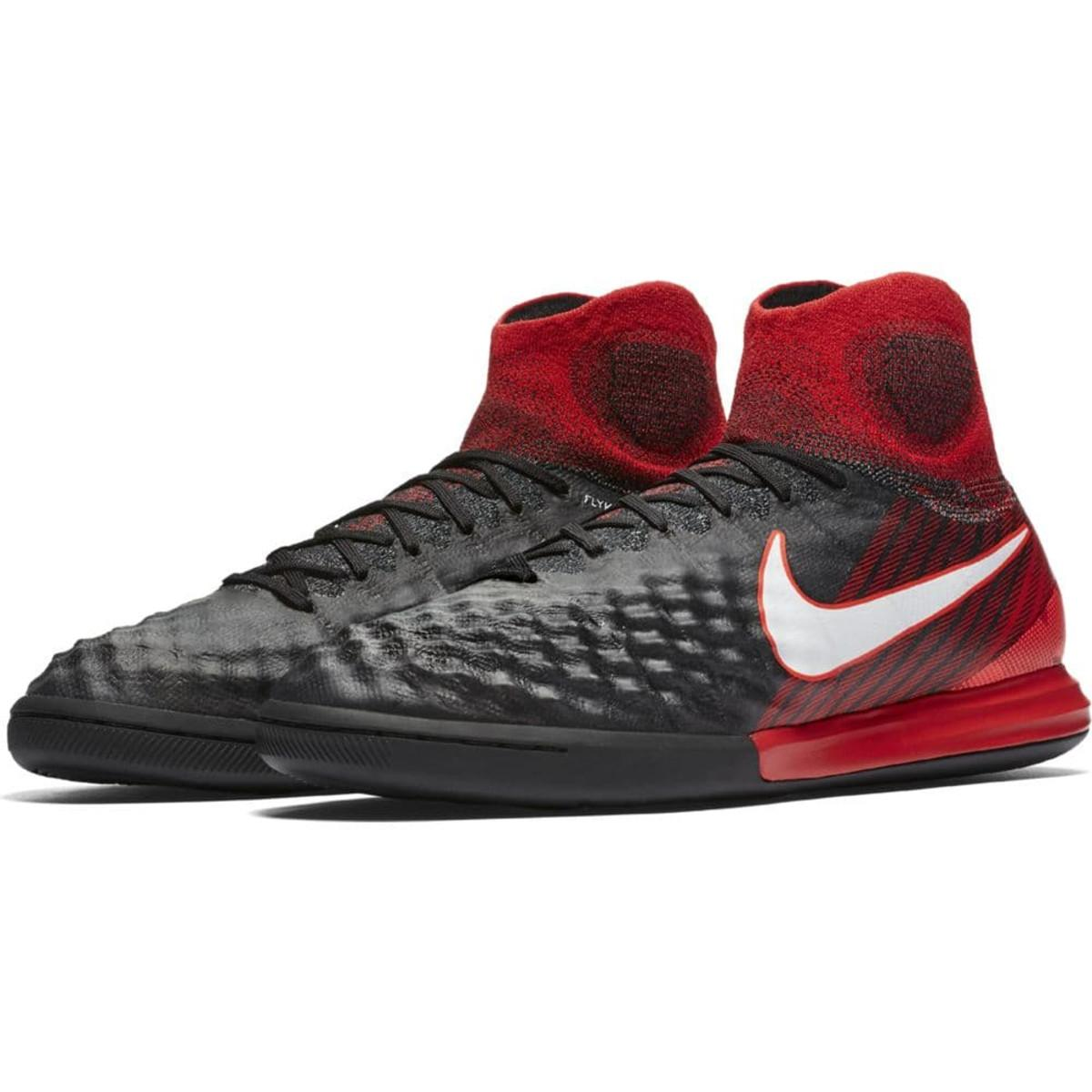 ... Nike MagistaX Proximo II Indoor Boot Jr - BLACK/WHITE-UNIVERSITY RED ...