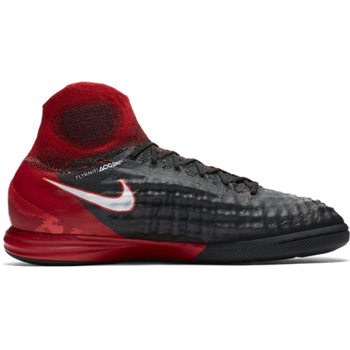 Nike MagistaX Proximo II Indoor Boot Jr - BLACK/WHITE-UNIVERSITY RED