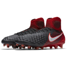 Nike Magista Obra II Firm Ground - Black/White-Red