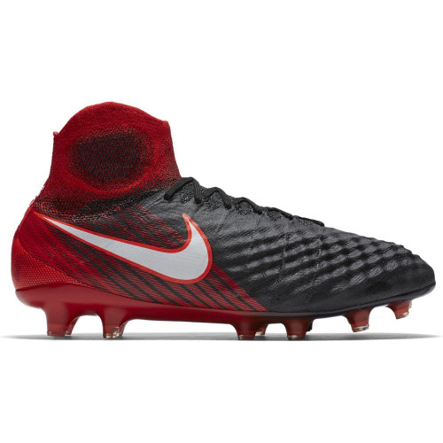 Nike Magista Obra II Firm Ground - Black/White-Red