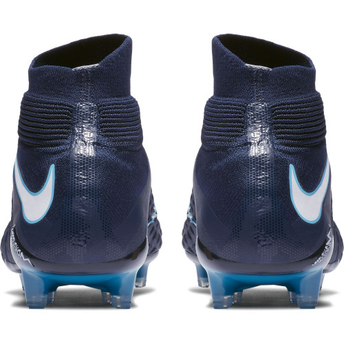Nike Hypervenom Phantom III Dynamic Fit Firm Ground Boot - Obsidian/White-Gamma Glacier-Blue