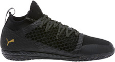 Puma 365 Ignite Netfit Indoor Boot - Puma Black/Gold/Puma White