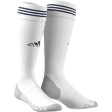 adiSock 18 - White/Dark Blue