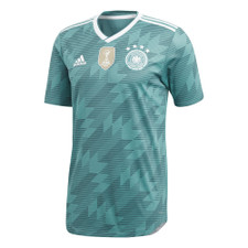 adidas Germany Away 17/18 Authentic Jersey