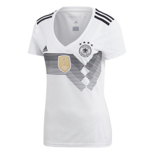 91468f129 adidas 2018 Germany Home Replica Jersey Womens