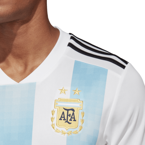 new concept 684d8 9c39d ... adidas 2018 Argentina Home Replica Jersey ...