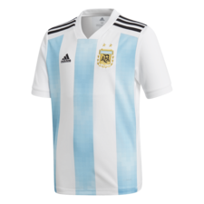 adidas 2018 Argentina Home Replica Jersey Youth