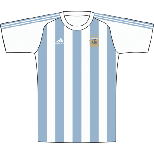 dd6c98df637 adidas 2018 Argentina Home Replica Jersey Youth ...