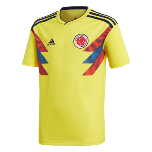 d783cd51a28 2018 Colombia Home Replica Jersey Youth | SOCCERX