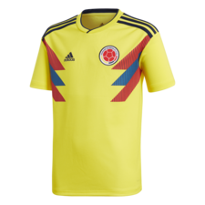 adidas 2018 Colombia Home Replica Jersey Youth