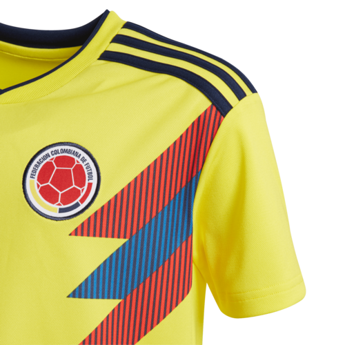 e5a413125f9 ... adidas 2018 Colombia Home Replica Jersey Youth ...