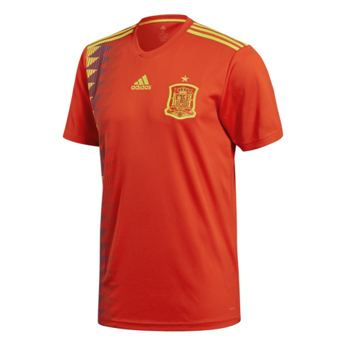 af9253387 adidas 2018 Spain Home Replica Jersey | SOCCERX