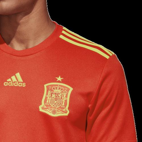 3246476f358 ... adidas 2018 Spain Home Replica Jersey ...
